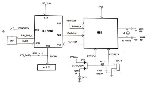 Intel Motherboard Circuit Diagram